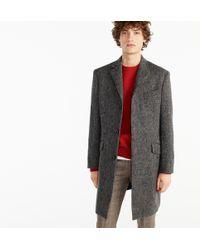 J.Crew - Ludlow Topcoat In Textured Grey Tweed - Lyst