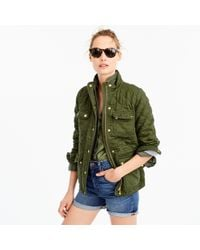 J.Crew - Quilted Downtown Field Jacket - Lyst