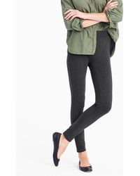 J.Crew - Petite Any Day Pant In Stretch Ponté - Lyst