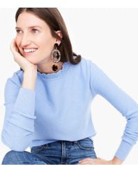 J.Crew - Clip-on Tortoise Drop Earrings - Lyst