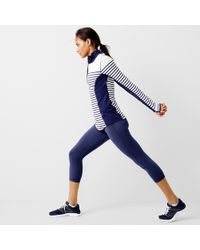 New Balance - In-transit Pullover In Stripe - Lyst