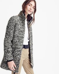 J.Crew - Lodge Coat In Speckled Boucle - Lyst