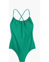 J.Crew - Playa Rockaway Ruched One-piece Swimsuit - Lyst