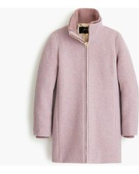J.Crew Petite Lodge Coat In Italian Stadium-cloth Wool - Multicolor