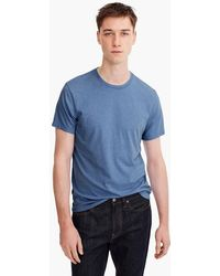 J.Crew - Mercantile Broken-in Heather Crewneck T-shirt - Lyst