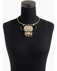 J.Crew - Crystal And Lucite Collar Necklace - Lyst