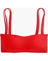 J.Crew - Double Strap Bikini Top - Lyst