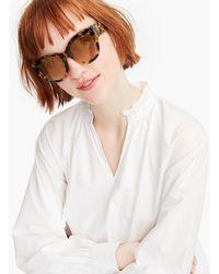 J.Crew - Resort Oversized Sunglasses - Lyst