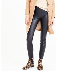 53488a18d9396 J.Crew Collection Cashmere Waffle Leggings in Brown - Lyst