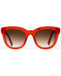 J.Crew - Cabana Oversized Sunglasses - Lyst