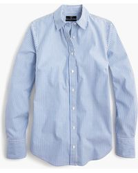 J.Crew - Tall Slim Stretch Perfect Shirt In Classic Stripe - Lyst