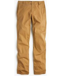 J.Crew - Petite Straight-leg Pant In Stretch Chino - Lyst