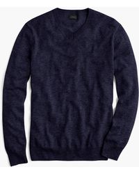 J.Crew - Tall Lightweight Italian Cashmere V-neck Sweater - Lyst