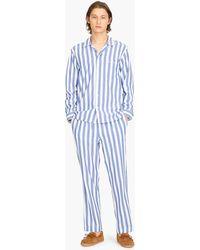 J.Crew - Pyjama Set In Wilson Stripe - Lyst