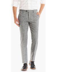 J.Crew - Ludlow Slim-fit Suit Pant In Magee Tweed - Lyst