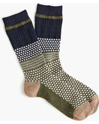 Anonymous Ism - Moss Navy Crew Socks - Lyst