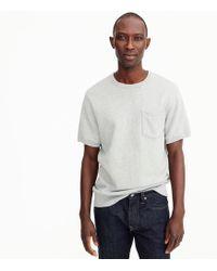 J.Crew - French Terry Short-sleeve Sweatshirt - Lyst