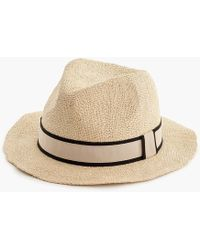 J.Crew - Packable Panama Hat - Lyst