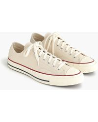 J.Crew - Converse Chuck Taylor All Star '70 Low-top Trainers - Lyst