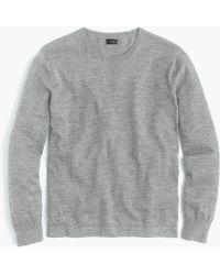J.Crew - Cotton Crewneck Sweater - Lyst