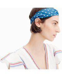J.Crew - Soft Twist Headband In Star - Lyst