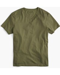 J.Crew - Mercantile Broken-in V-neck T-shirt - Lyst