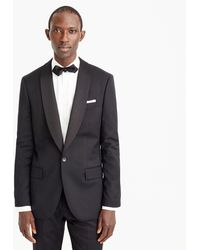 J.Crew - Ludlow Shawl-collar Tuxedo Jacket In Italian Wool - Lyst