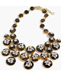 J.Crew - Tortoise Statement Necklace - Lyst