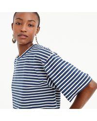 J.Crew - Boxy Striped T-shirt - Lyst