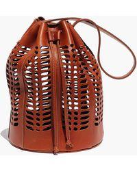 Modern Weaving - Jute Die Cut Bag - Lyst