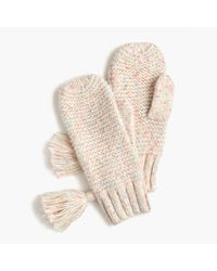 J.Crew - Chunky Donegal Cable-knit Mittens - Lyst