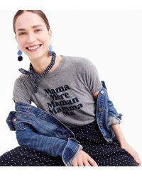 """J.Crew - Prinkshop """"mama"""" T-shirt - Lyst"""