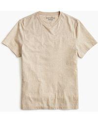 J.Crew - Slim Mercantile Broken-in Heather T-shirt - Lyst