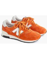 New Balance - 1400 Trainers In Orange - Lyst