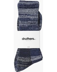 Druthers - Defender High Socks - Lyst