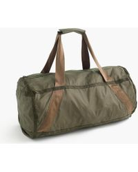 J.Crew - Packable Ripstop Duffel Bag - Lyst