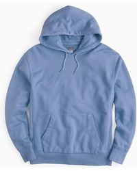 J.Crew - Garment-dyed French Terry Hoodie - Lyst
