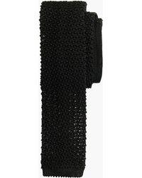J.Crew - Italian Silk Knit Tie - Lyst