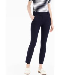 J.Crew - Petite Cameron Slim Crop Pant In Two-way Stretch Cotton - Lyst