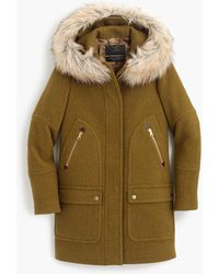 J.Crew - Petite Chateau Parka In Stadium-cloth - Lyst