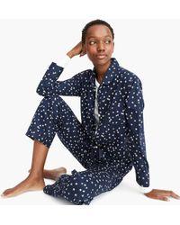 J.Crew - Vintage Pajama Set In Constellations - Lyst