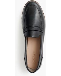 J.Crew - Ryan Penny Loafers In Leather - Lyst