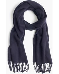 J.Crew - Solid Cashmere Scarf - Lyst
