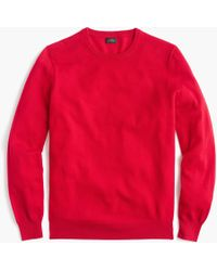 J.Crew - Everyday Cashmere Crewneck Sweater - Lyst