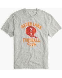 J.Crew - Vineyard Football Club Graphic T-shirt - Lyst