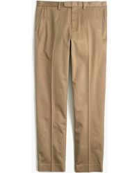 J.Crew - Bowery Slim Pant In Stretch Chino - Lyst