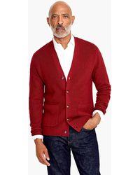 J.Crew - Destination Merino Wool Ribbed Cardigan Sweater - Lyst