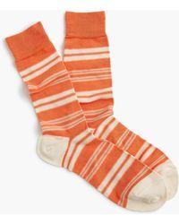 J.Crew - Mixed Stripe Socks - Lyst