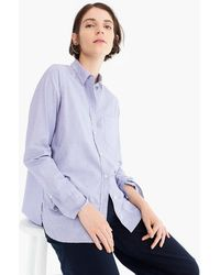 J.Crew - Classic-fit Boy Shirt In End-on-end Cotton - Lyst