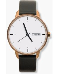 J.Crew - Tinker 42mm Copper-toned Watch With Black Strap - Lyst